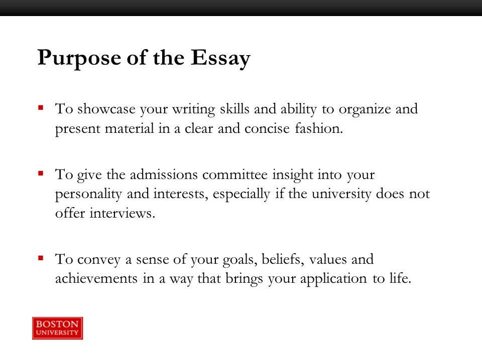 writing workshop constructing your college essay ppt video 3 purpose