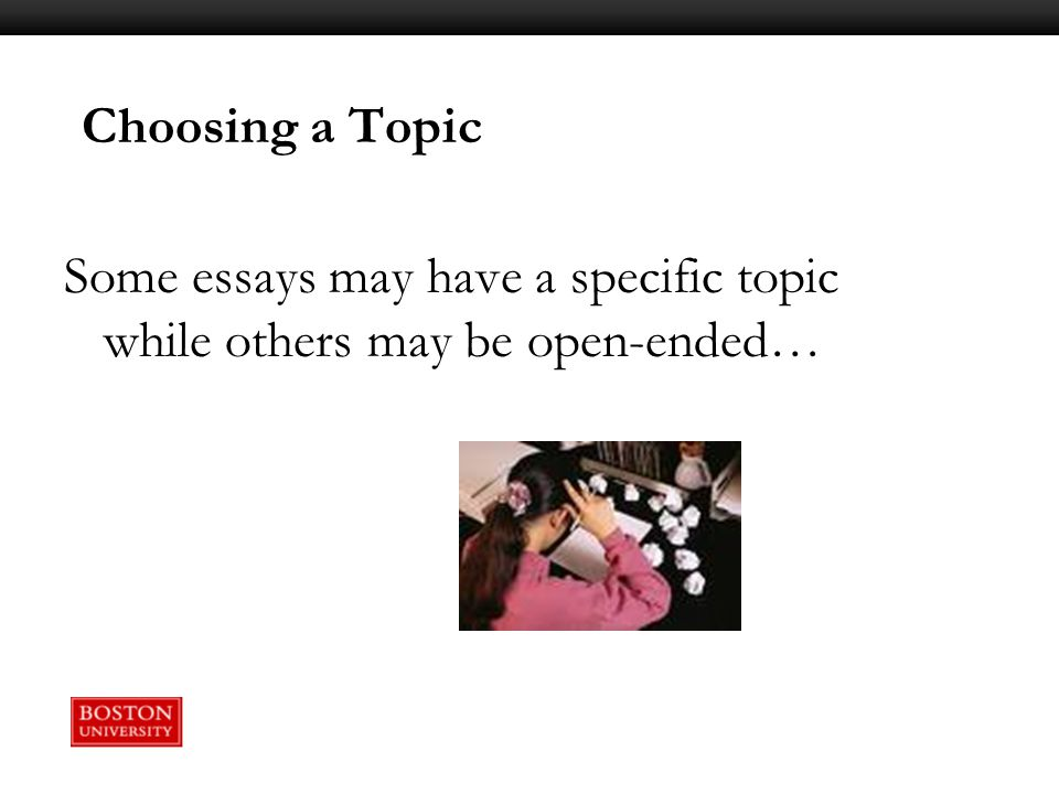 open ended college essay Jan 9, 2014 select how to write an open ended response essay work of acknowledged literary merit and in a well-written essay, show how the conventional.