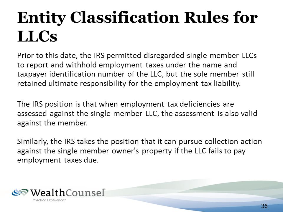 Cracking The Income Tax Code For Llcs And Trusts Ppt Download