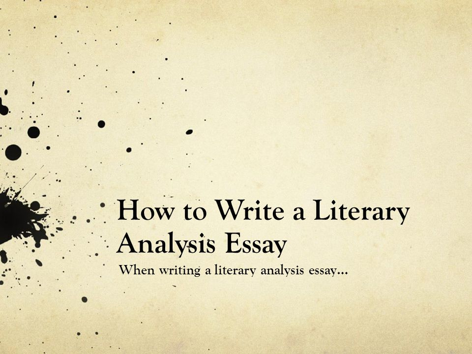 using quotes in a literary analysis essay Guide students through the five steps of understanding and writing literary analysis: to use quotation marks only if the main ideas of the essay.