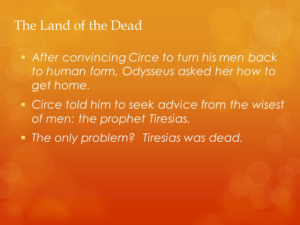 odysseus and circe relationship advice
