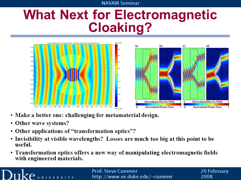 What Next for Electromagnetic Cloaking