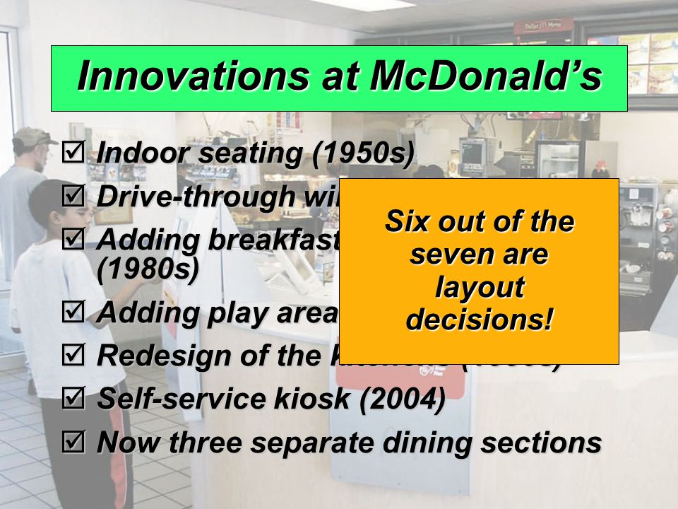 operational objective for mcdonalds For more on mcdonald's, watch this fortune video:  luckily for mcdonald's, skinner is an operations whiz who has turned the restaurant giant into a well-oiled machine, insisting on planning .