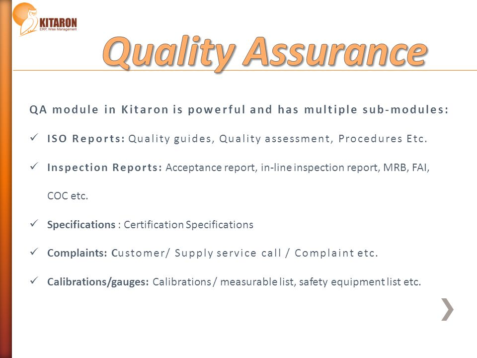 Geosoft Systems Ltd Kitaron Erp Amp Mes Wise Management Ppt