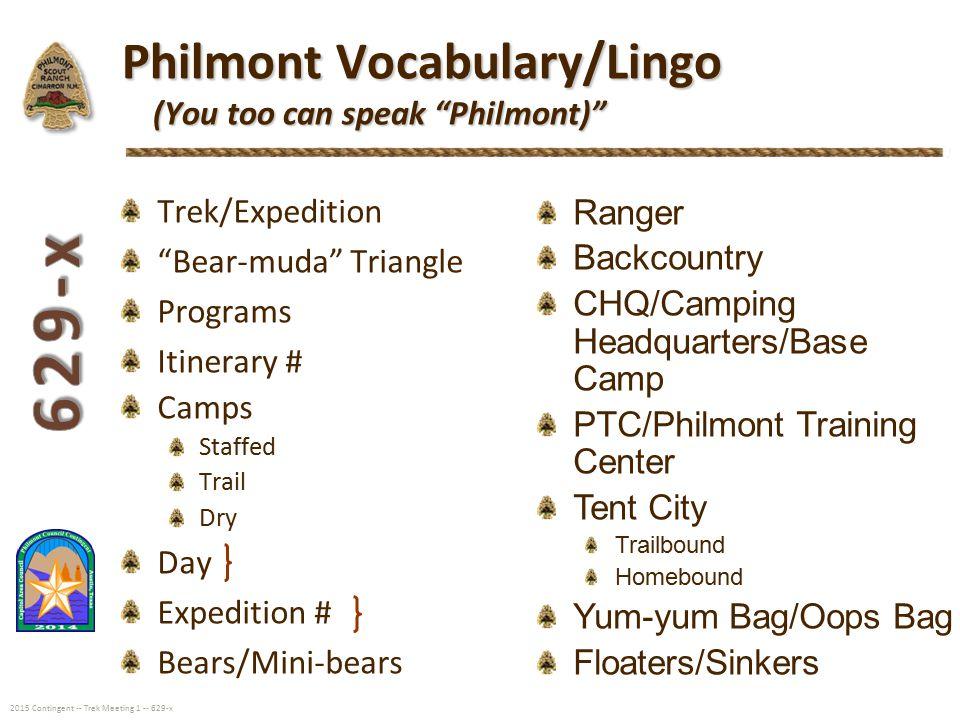 Philmont 2015 Council Contingent - ppt download