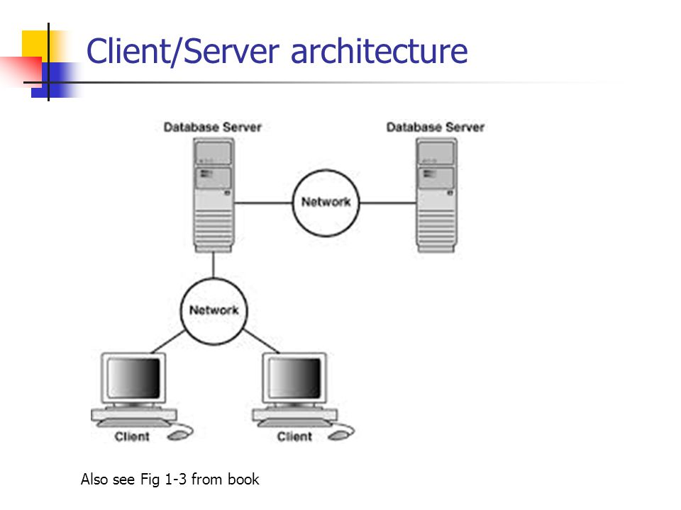 Lecture 1 an introduction to networking chapter 1 pages for Architecture client serveur