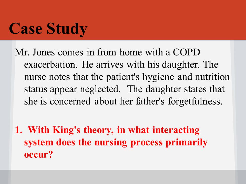 case study using nursing process Creating a nursing care plan from case study print reference this the aim of this assignment is to analyse a case study and create a nursing care plan based on.