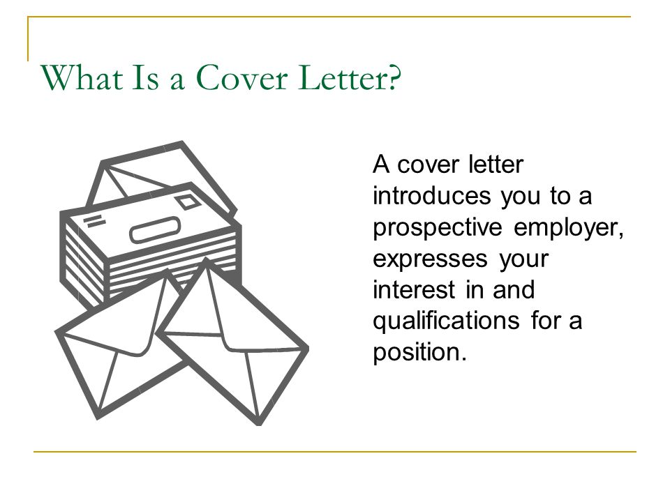 how to write a prospective cover letter - cover letters project mentor new jersey city university