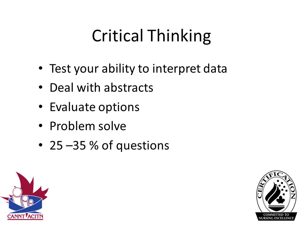 is critical thinking an innate ability I had an innate mathematical, critical thinking and reasoning ability throughout my life until recently the problem growing up was that though i loved all things mathematical and statistical, i would get headaches and pain in the eye area from working out problems.