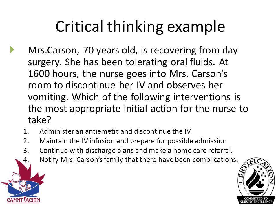 Critical Thinking Essay Sample