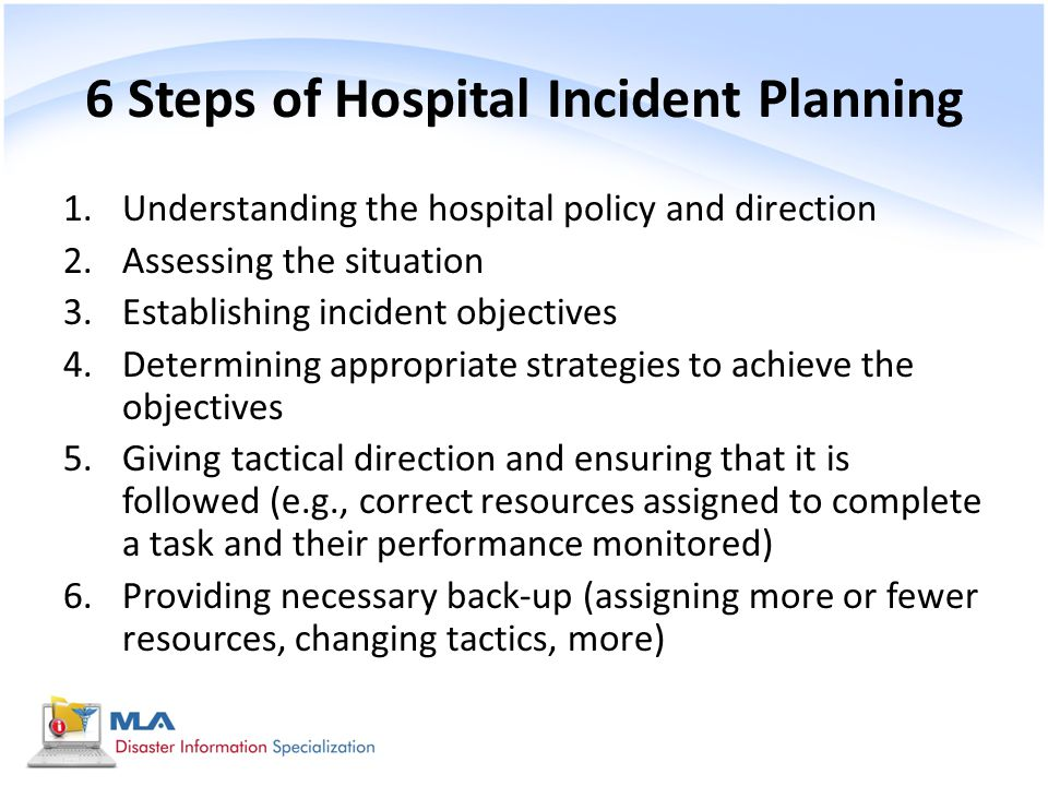 Understand appropriate responses to accidents incidents emergencies