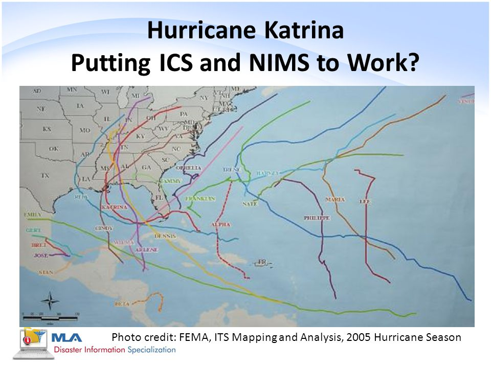 hurricane katrina outline Hurricane katrina was the largest natural disaster in the united states in living memory, affecting katrina might not be just another hurricane.