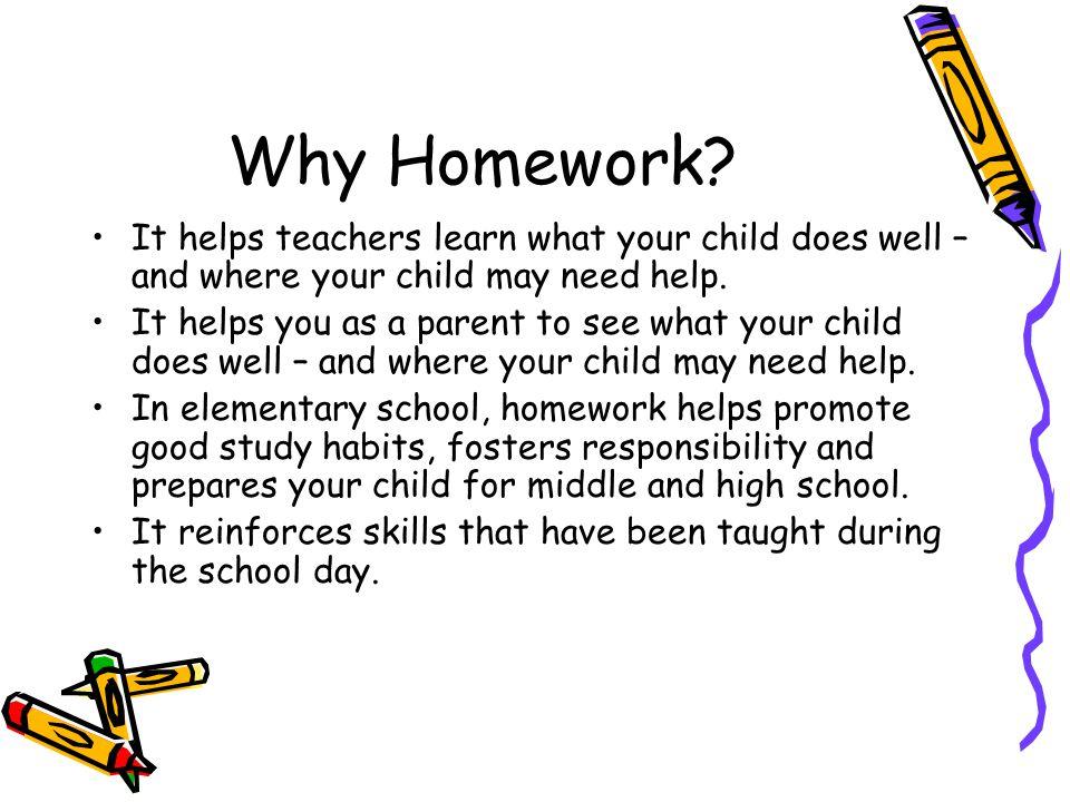 Do kids need to do homework