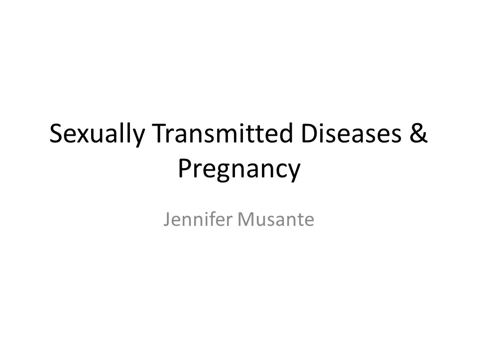 Hiv/aids sexually transmitted infections during pregnancy