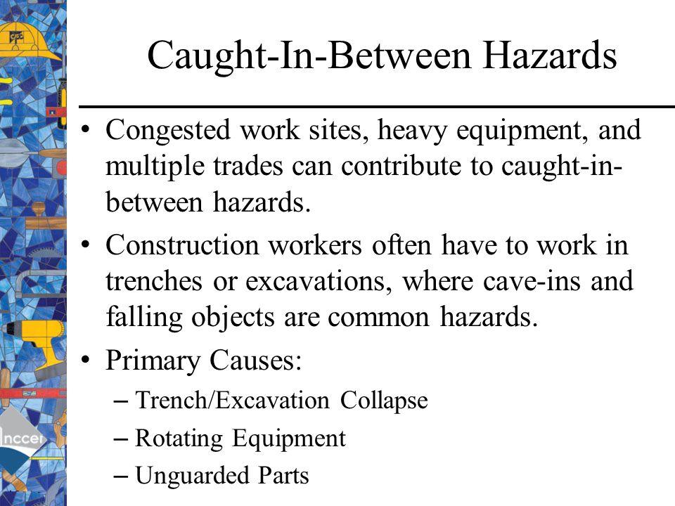 Caught-In-Between Hazards
