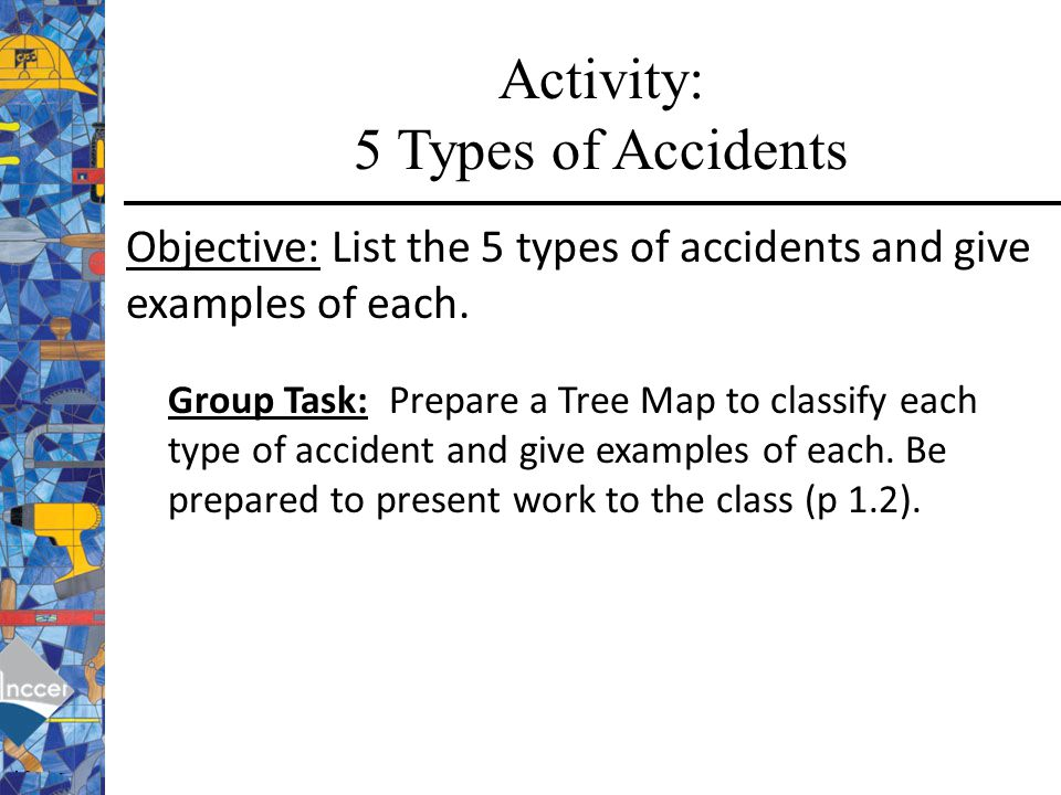 Activity: 5 Types of Accidents