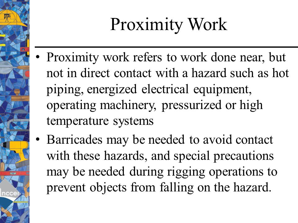Proximity Work