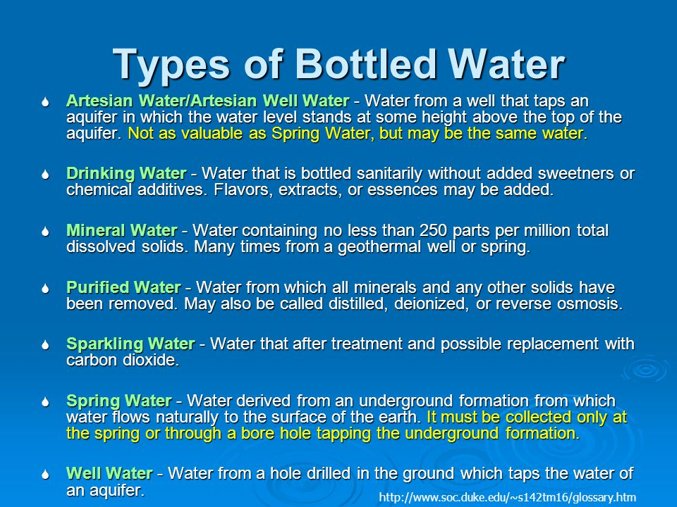 Bottled Water And The Environment Ppt Download