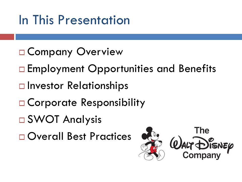 the management strategy of disney The innovative disney marketing and their growth is all about their marketing strategy of course, if you are a family with children or grandchildren you certainly know this.