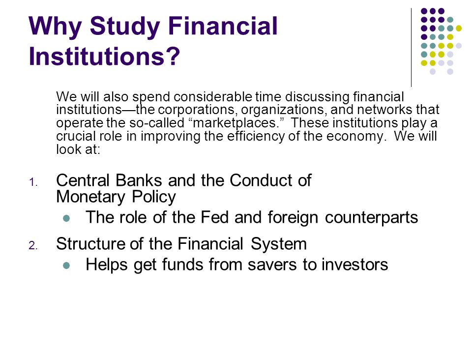 banking why are financial institutions special Bank grocery store savings and loan credit union don't know what financial  institution focuses on business accounts.