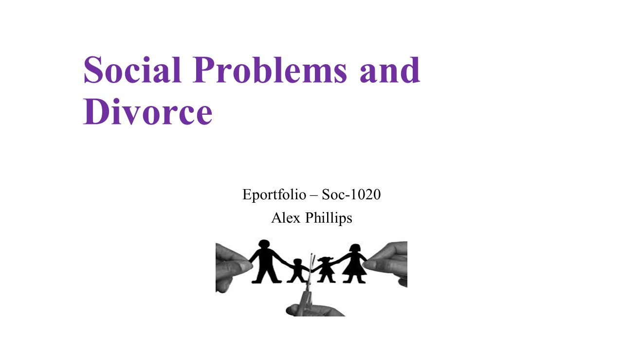 divorce social problem or solution Divorce and separation have direct  has important social  boivin m, peters rdev, eds emery re, topic ed encyclopedia on early childhood development.
