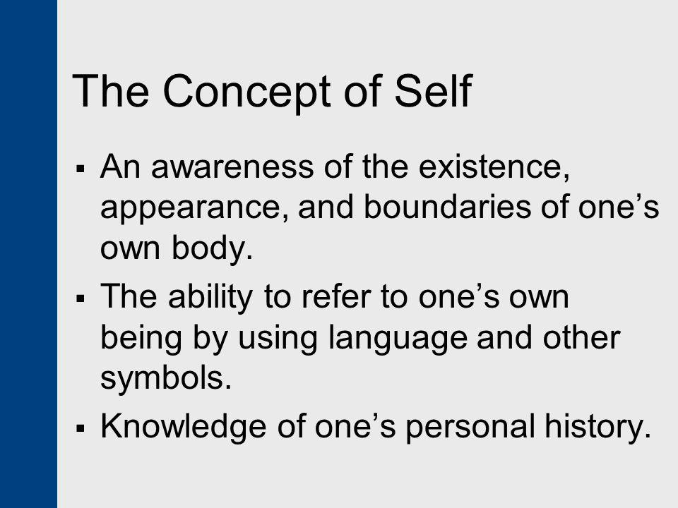 own self concepts Key concepts identity is a socially and historically constructed concept we learn about our own identity and the identity of others through interactions with family, peers, organizations, institutions, media and other connections we make in our everyday life.