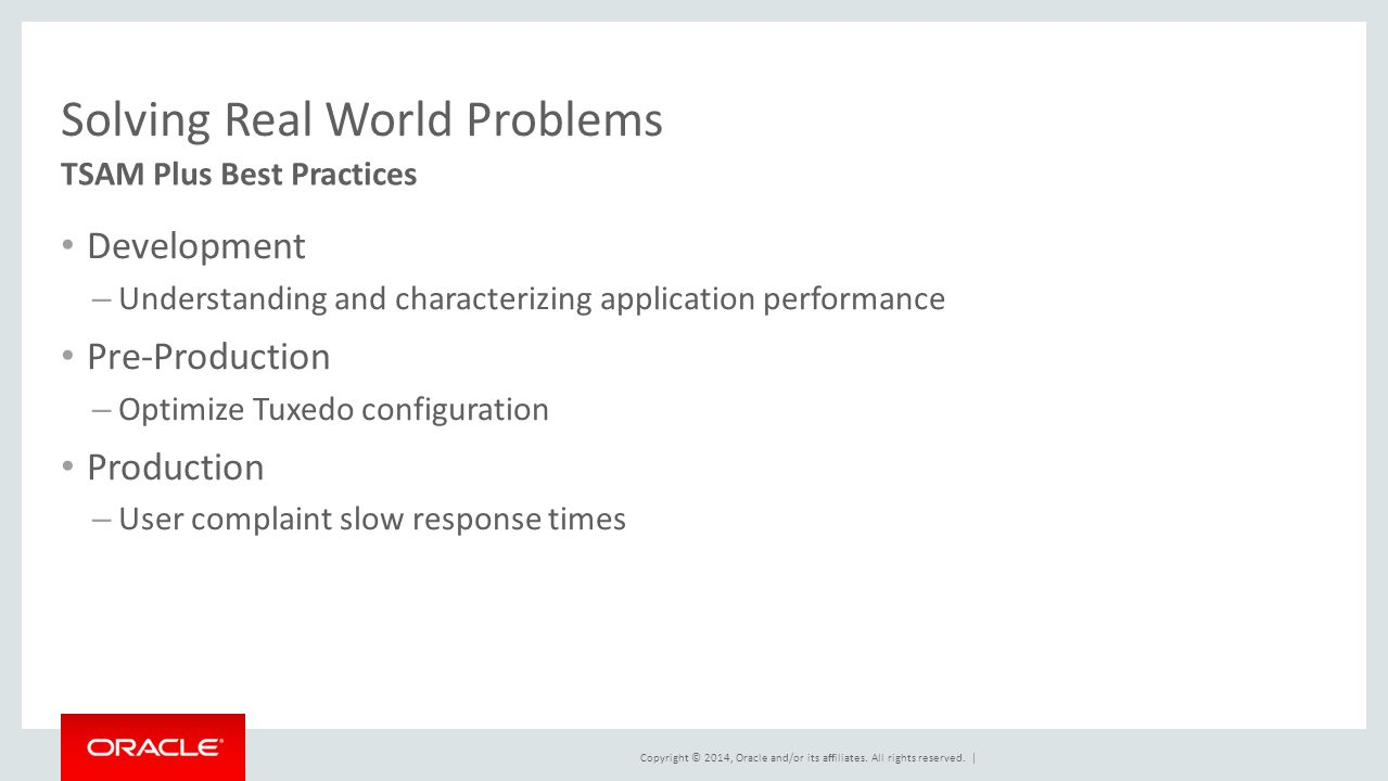 Solving the 11 Most Common Performance Problems