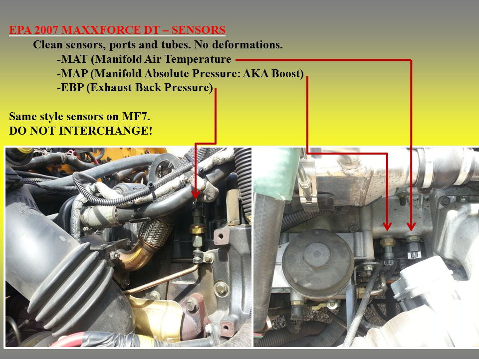 fuel pressure sensor location maxxforce