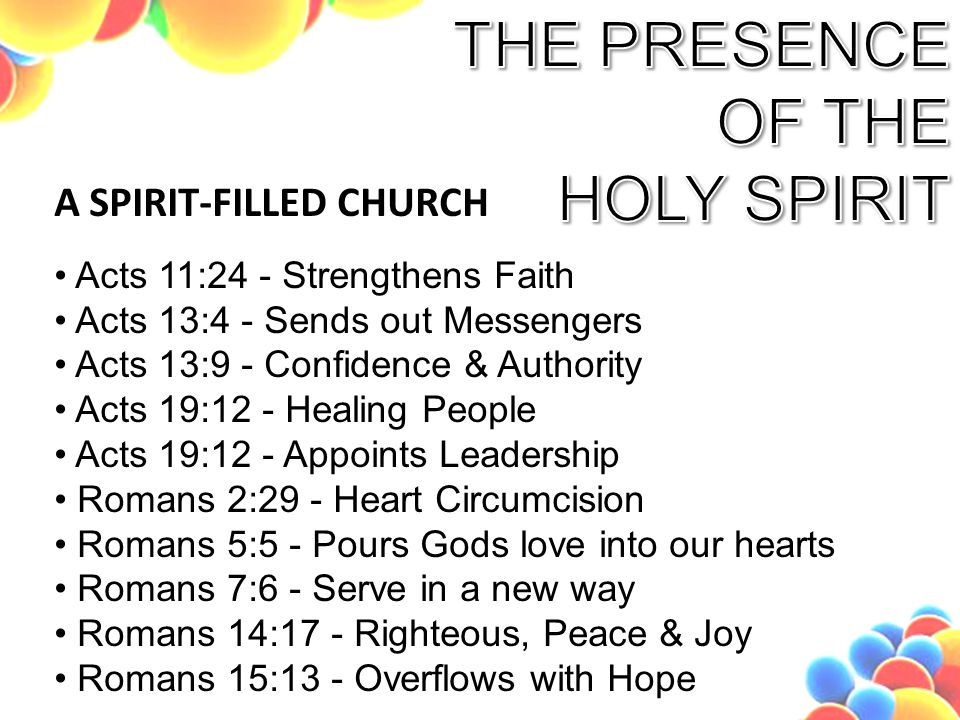 how to be filled with the holy spirit pdf