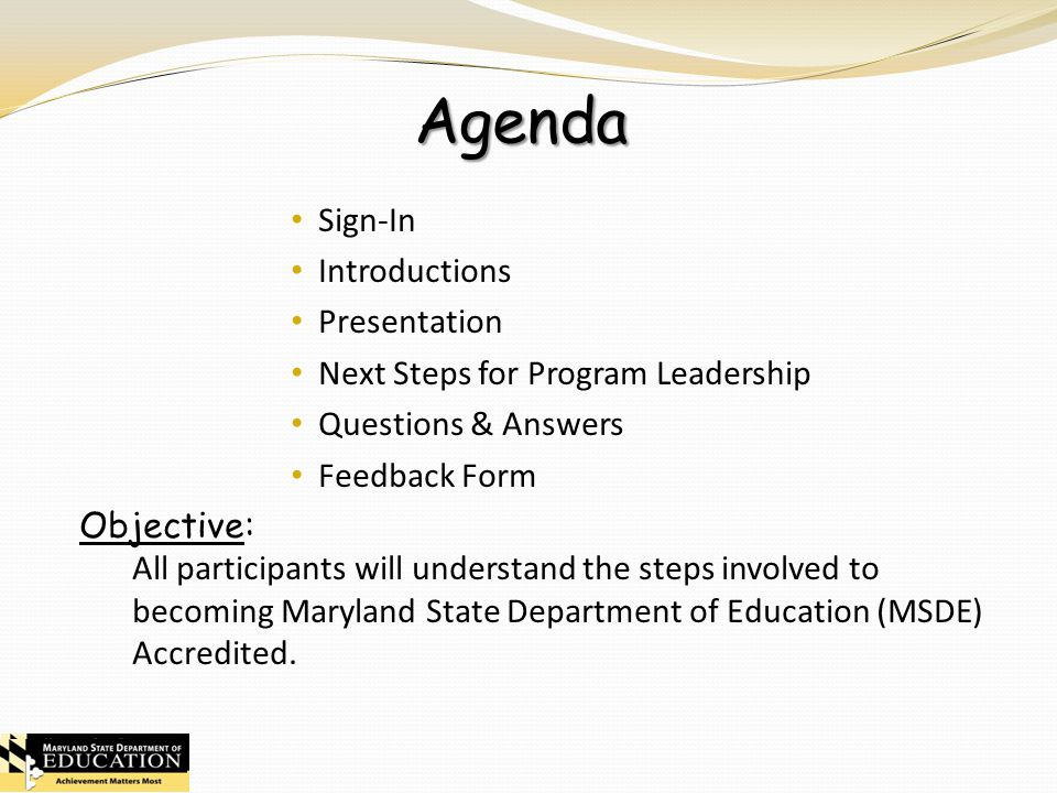 Accreditation Orientation  Ppt Download