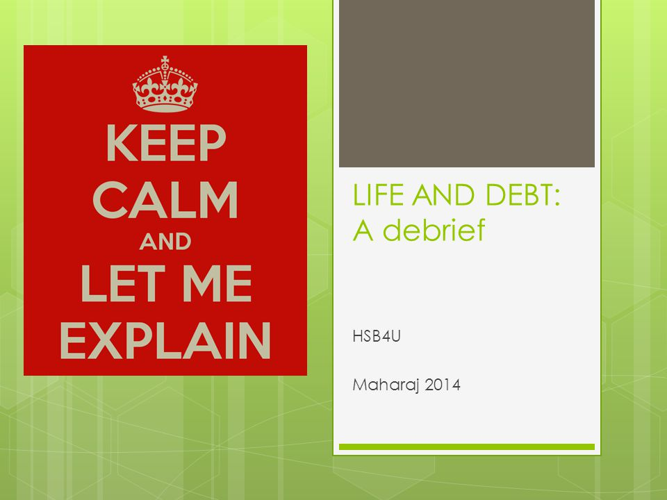 life and debt The life debt was a social institution found in many honor-bound cultures throughout the galaxy, including the wookiees, trandoshans, gungans, noghri, .