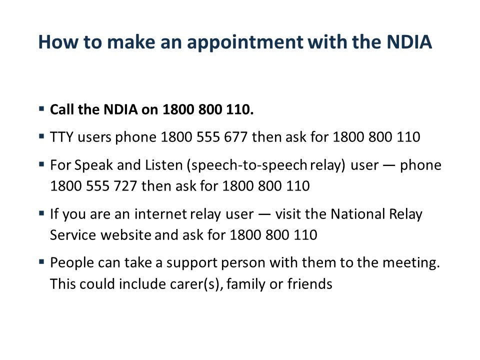 how to call to make an appointment