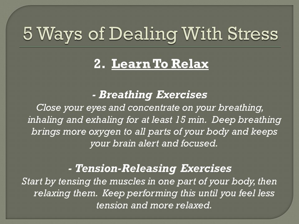 Stress Amp Your Health Ppt Video Online Download