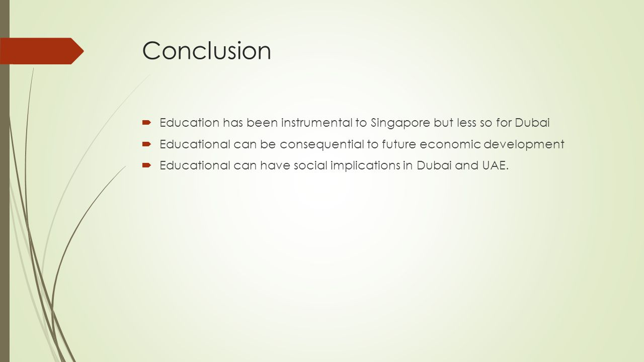 Singapore And Dubai A Quot Tale Quot Or Two Cities Lessons From