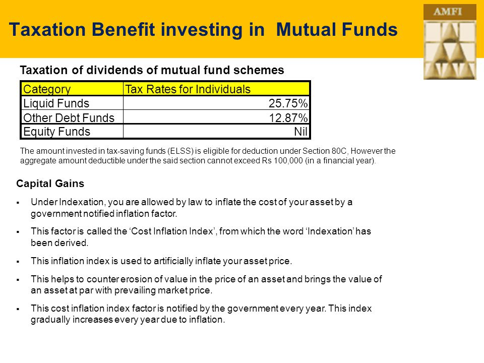 advantages of mutual funds in india pdf