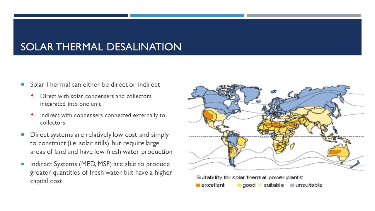 Solar Water Desalination System For Data Acquisition System : This presentation is a work in progress ppt download
