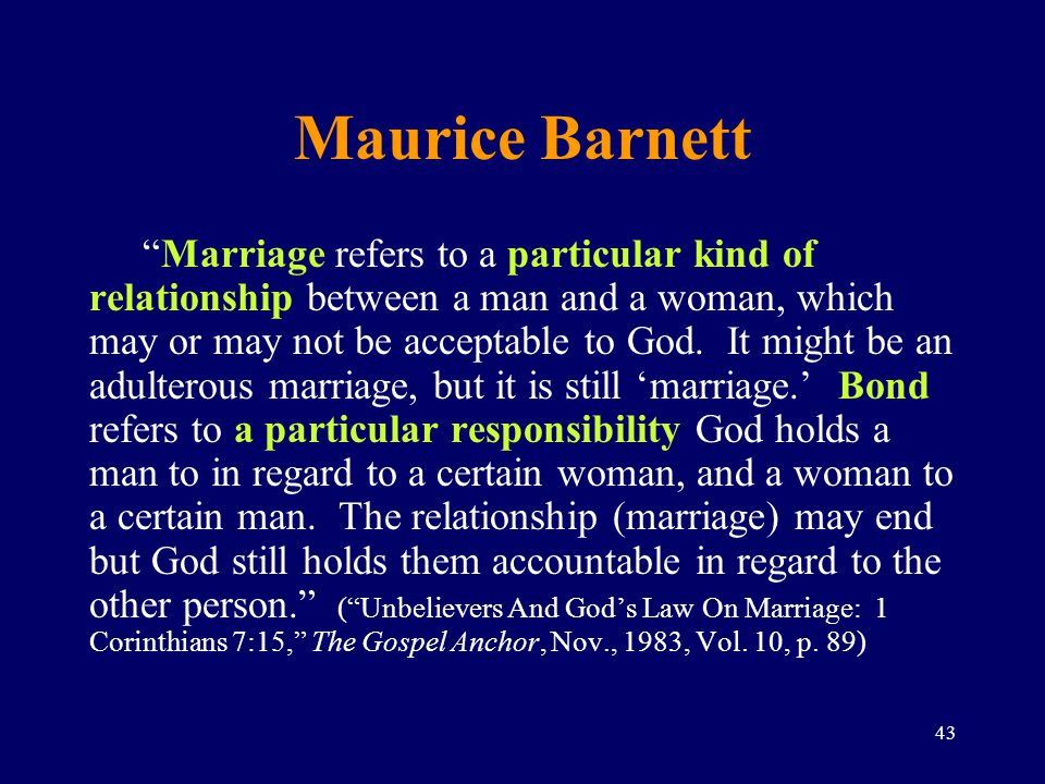 What is a Marriage Covenant
