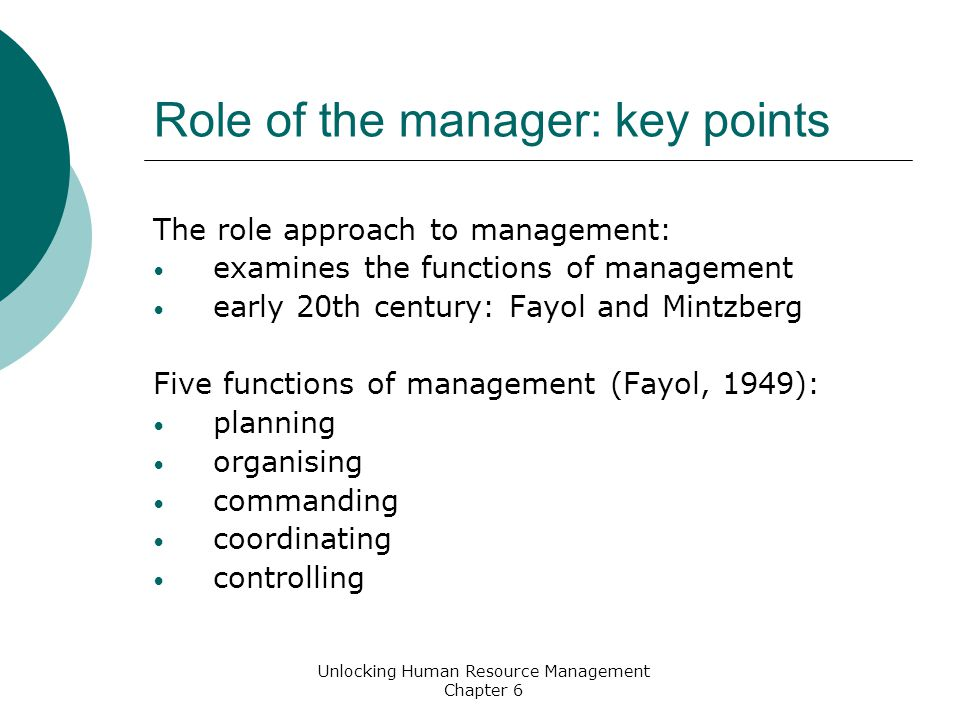 fayol and mintzberg management roles View essay - fayol vs mintzberg from mba 230 at cardiff metropolitan university compare and contrast the traditional roles of managers presented by fayols early writings with more contemporary.