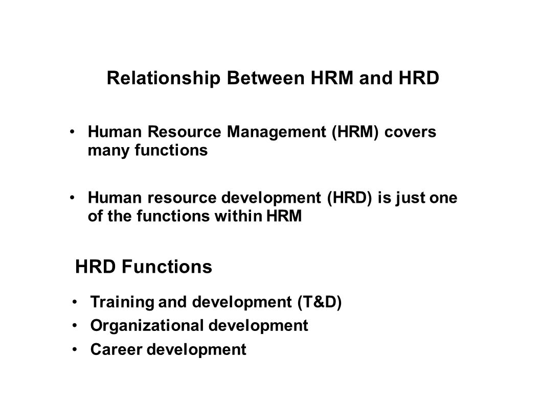the relationship between hrm practices and The focus of this study is to gain an insight into the current hrm practices  the ' human' aspect of hrm is concerned with the relationship between employer.