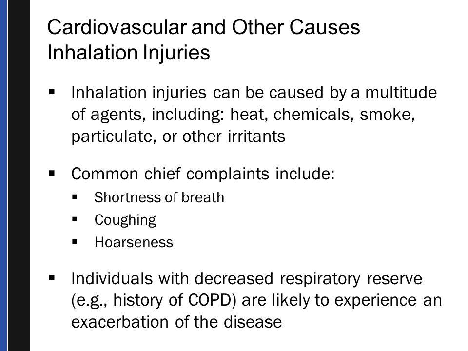 smoke inhalation causes Detailed analysis of 74 causes of hypoxemia symptom, alternative diagnoses and related symptoms.
