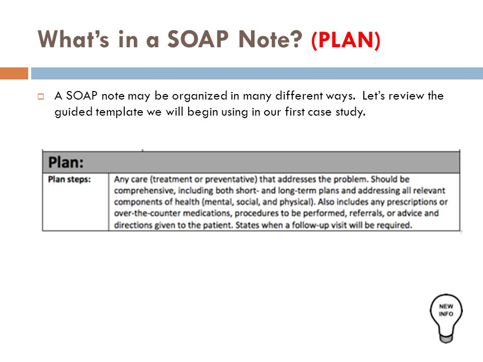 soap notes example mental health