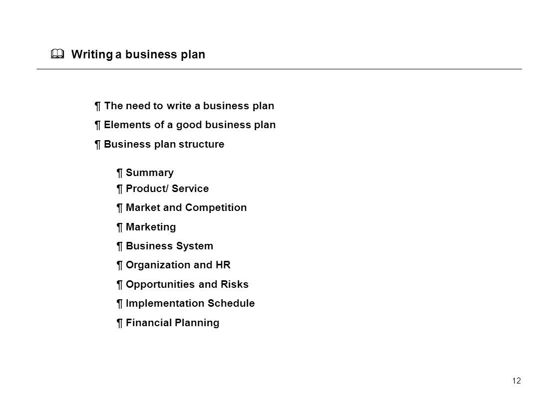 Business Plan Writers & Consultants