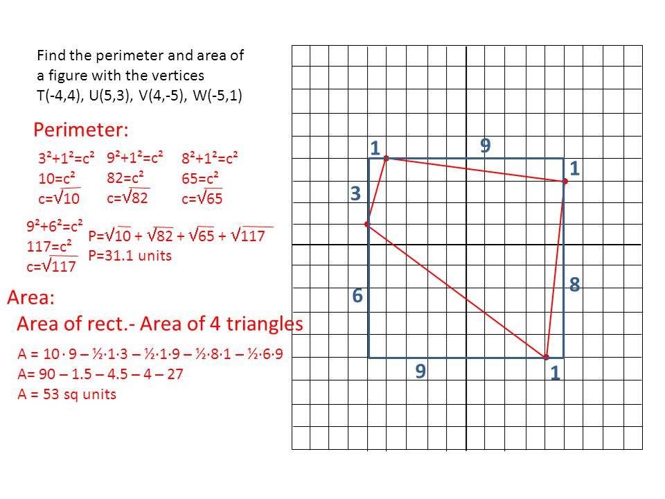 Chapter 9 big ideas 9 1 area formulas of triangles and 4 area ccuart Images
