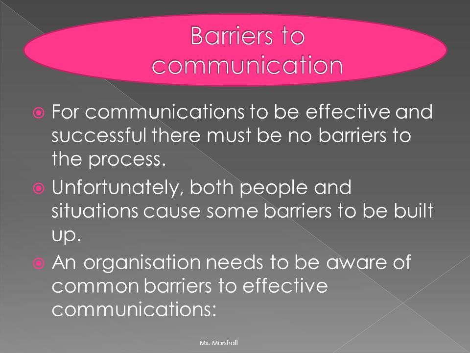 common barriers to effective communicat Top 7 communication barriers at workplace (benefits of effective communication)  communication skills are a must for every employee of an.
