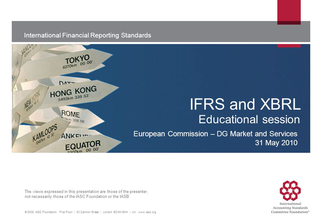 ifrs and xbrl educational session ppt video online download rh slideplayer com GAAP Accounting General Ledger