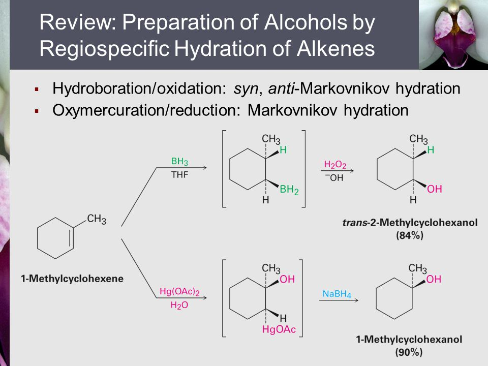 alkene synthesis from alcohol preparation of Alkenes: reactions and synthesis 71 preparation of alkenes: a preview of elimination reactions alcohol from an alkene 17.