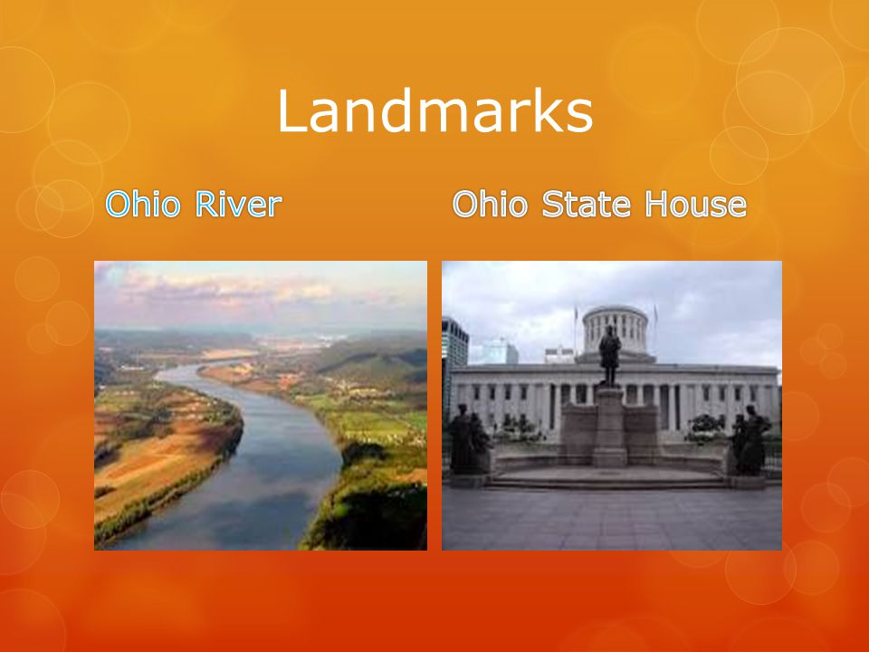 Landmarks Ohio River Ohio State House