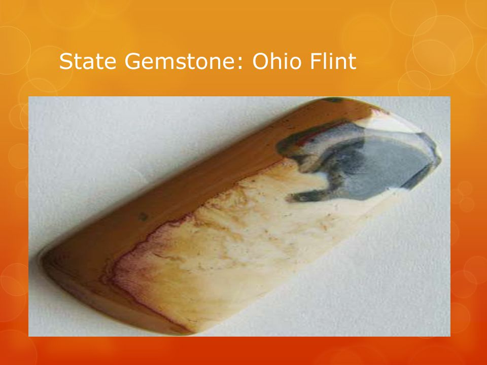 State Gemstone: Ohio Flint