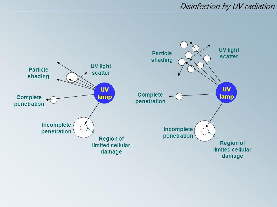 Incomplete penetration Region of limited cellular damage