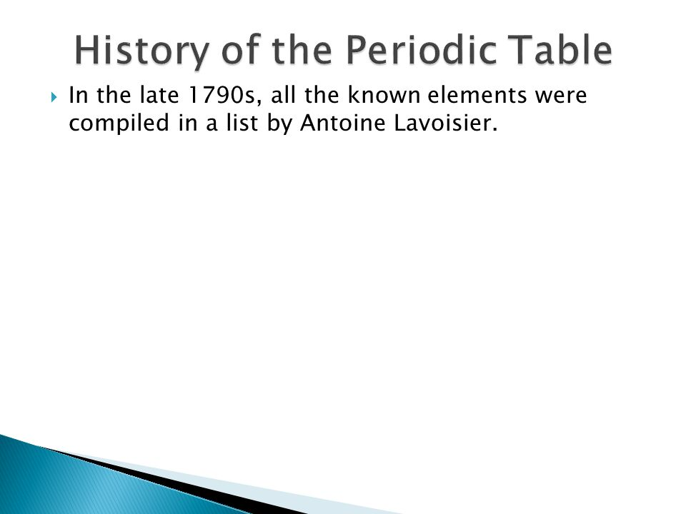 Periodic table outline the history of the development of the development of the modern periodic table classification of the urtaz Images